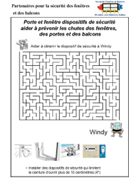 Rafale labyrinthe difficle